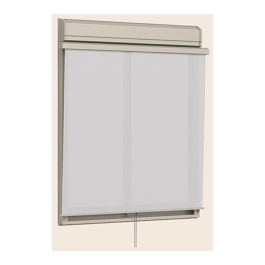 シャッター付引違い窓